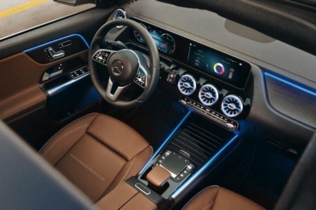 new Mercedes GLA MBUX