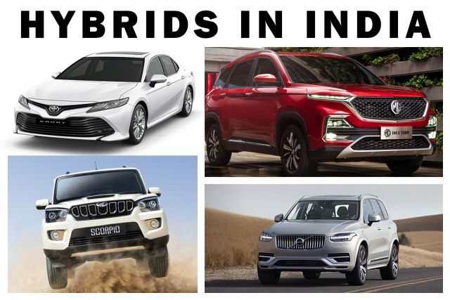 Types of Hybrid Cars in India