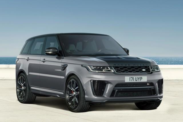 2021 Range Rover Sport SVR Carbon