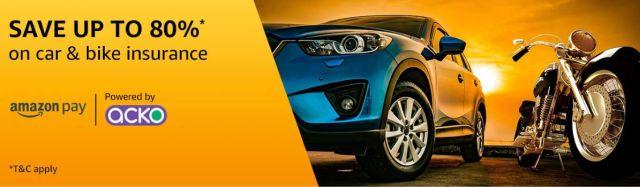Amazon vehicle insurance web
