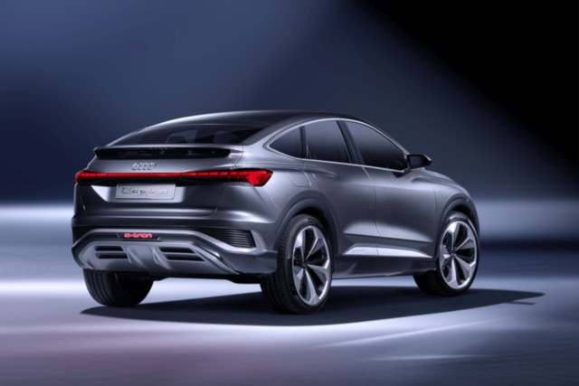 Audi Q4 e-tron concept Sportback e-tron