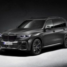 Striking New BMW X7 Edition Dark Shadow