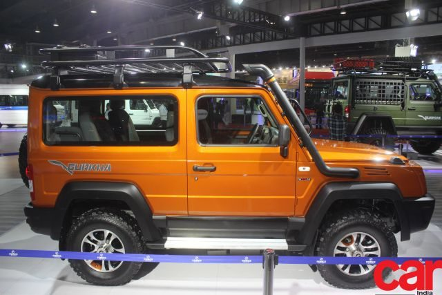 force gurkha spotted at Auto Expo 2020