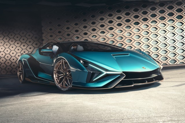 Lamborghini Sian Roadster