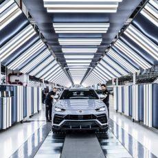 Landmark 10,000 Lamborghini Urus SUVs Produced