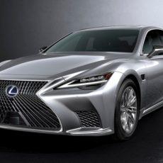 New 2021 Lexus LS Brings Tech Updates