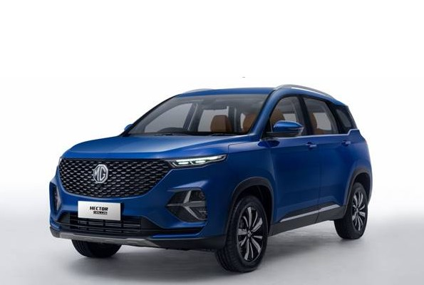 MG Hector Plus BS6 six-seat indian launch price
