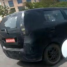 Maruti Suzuki WagonR MPV Spied Testing