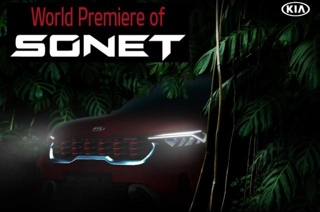 wold premiere of Kia sonet latest SUV date announced