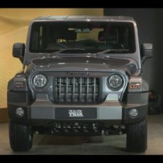 First Mahindra Thar to be Auctioned for Charitable Cause