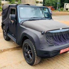 2020 Mahindra Thar To Be Launched on 15 August