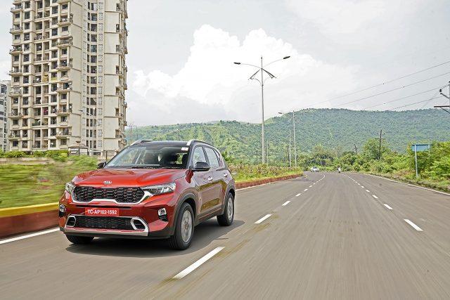Kia Sonet 1.0 turbo petrol drive review in India