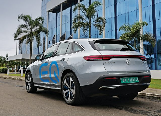 Mercedes-Benz EQC 400 electric SUV review by Car India