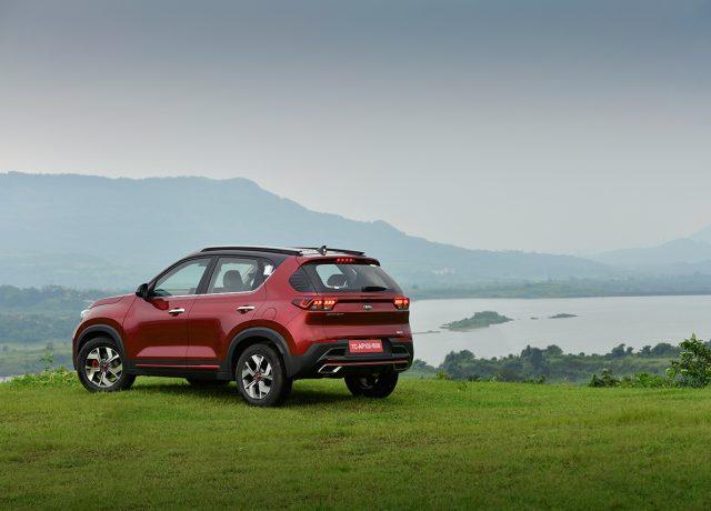 Kia Sonet rear design review by Car India