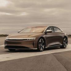 Lucid Air EV Luxury Sedan Breaks Convention