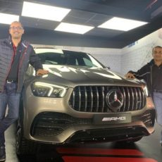 Mercedes Debut New Series with AMG GLE 53 Coupe Launch