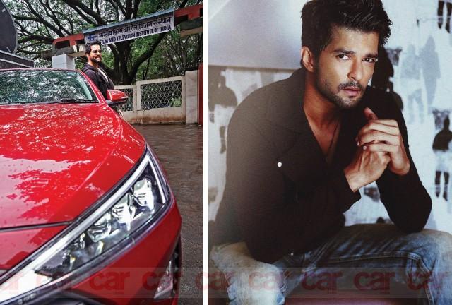 Raqesh Bapat is a car lover