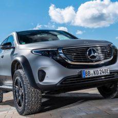 Mercedes-Benz EQC 4×4 Squared Unveiled