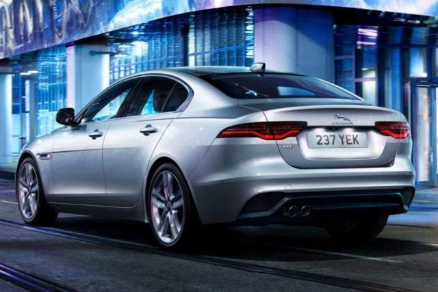 new Jaguar XE XF