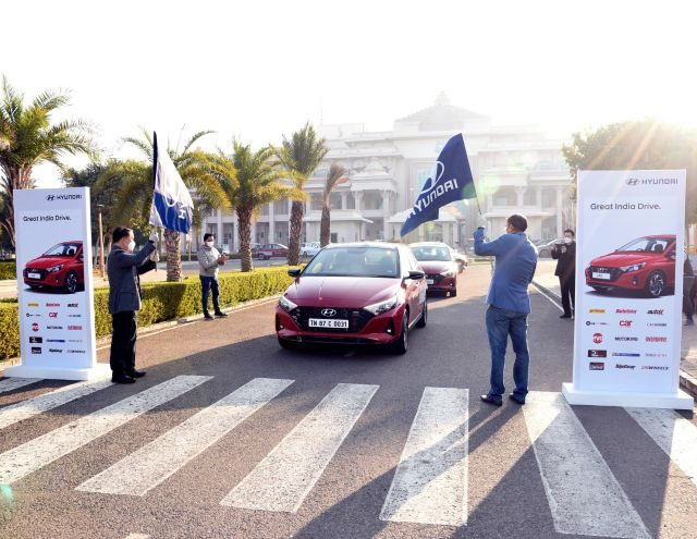 Hyundai Great India Drive 2020 Flags-off From Delhi