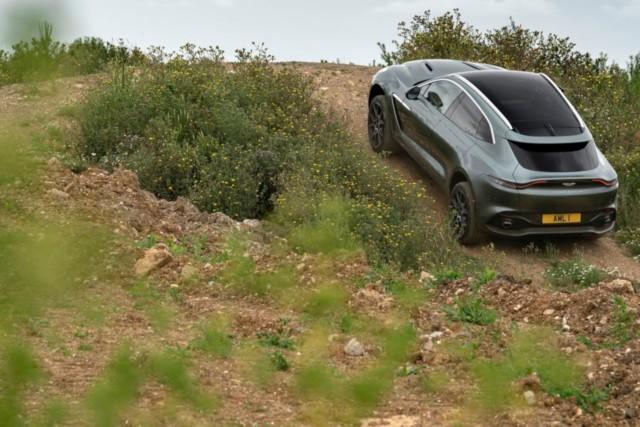 Aston Martin DBX India