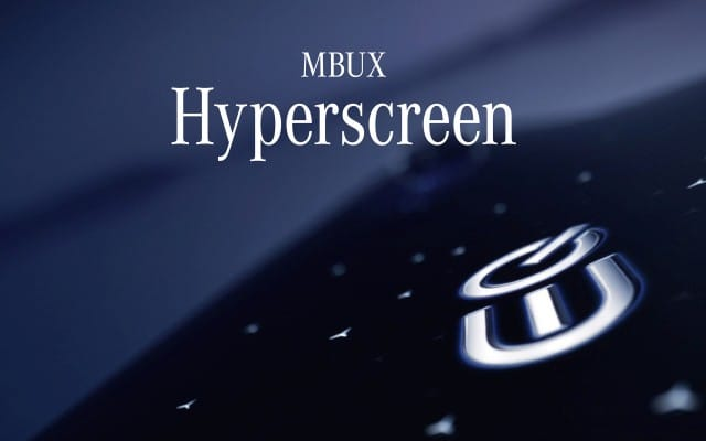Mercedes EQ MBUX Hyperscreen