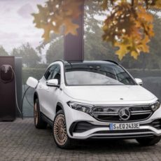 Mercedes EQA Compact SUV Makes its Official Debut