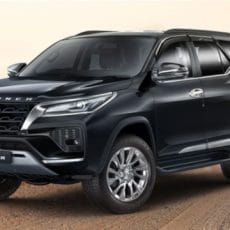 New Toyota Fortuner 2021 and Legender Launched in India