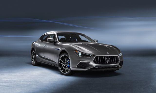 The 2021 Maserati Ghibli hybrid