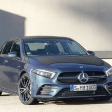 New Star – Mercedes A-Class Limousine Now in India
