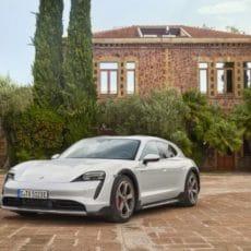 Electric Estate: Porsche Taycan Cross Turismo Expands Range