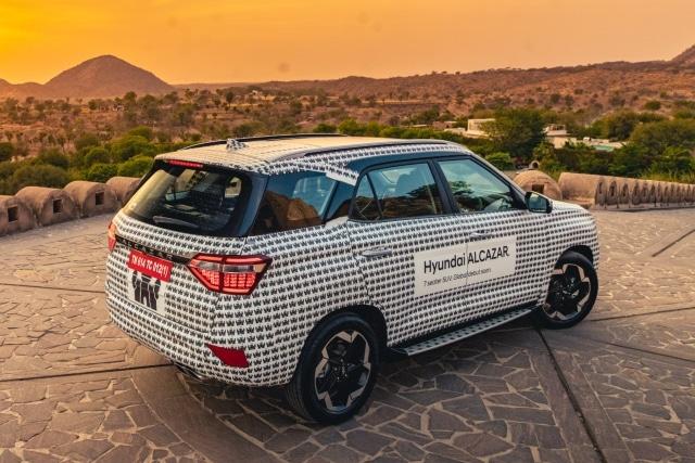 Hyundai Alcazar 7 seat suv India launch