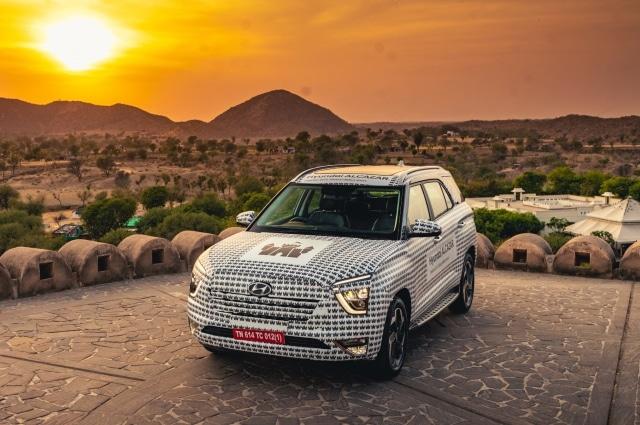 Hyundai Alcazar pre-production model review in India