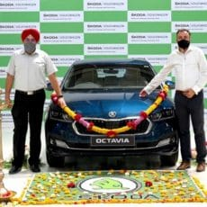 First New Skoda Octavia Rolls Out in India