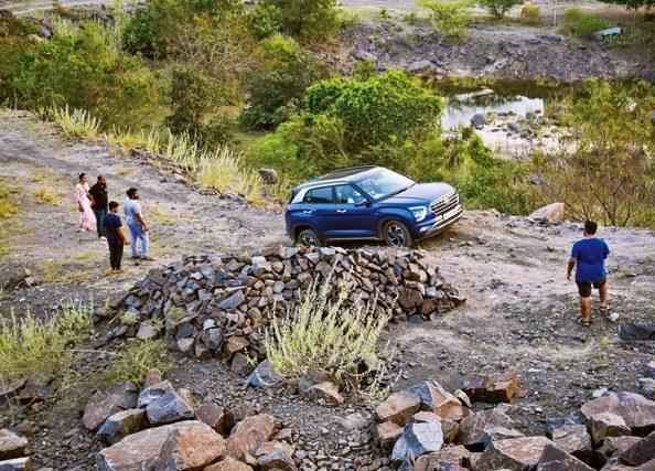 Hyundai Creta road trip to Auroville