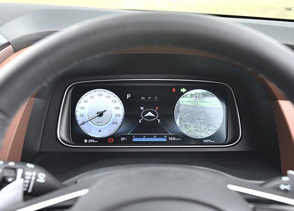Hyundai Alcazar instrument