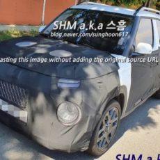 Hyundai Casper Sub-Compact SUV Spied