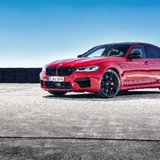 The BMW M5 Competition Sedan launched in India
